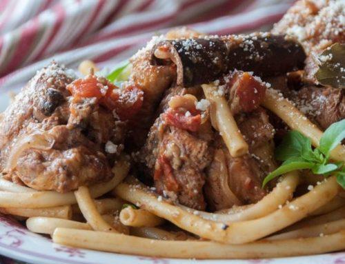 Pastitsada corfiota- ¡Una receta llena de sabor !